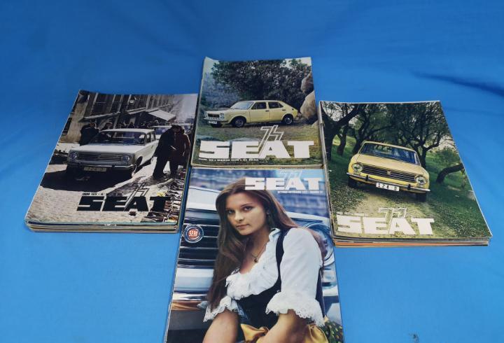 Lote 31 revistas seat años 70. ver y leer