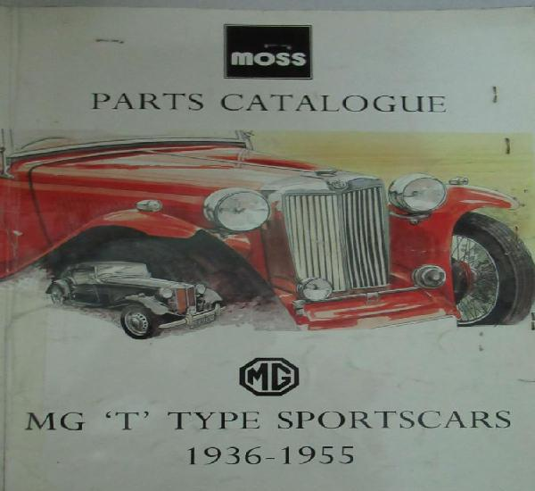 Mg tipo t catalogo de partes moss parts catalogue mg t type