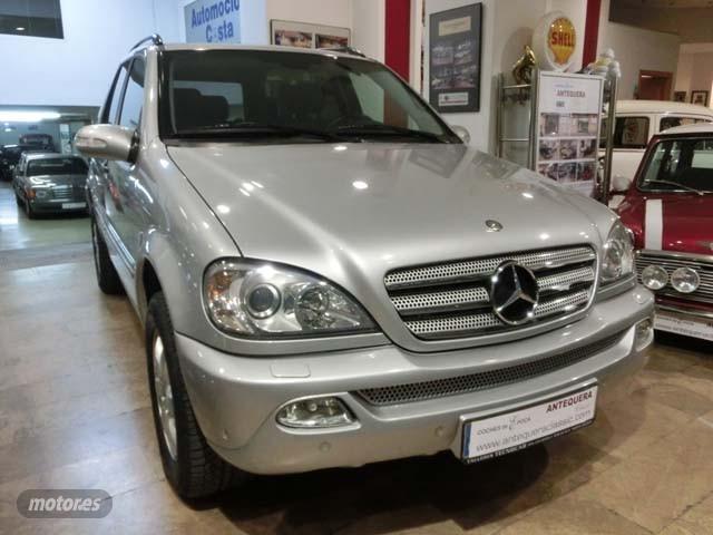 Mercedes Clase M ML 270 CDI INSPIRATION W163 de 2004 con