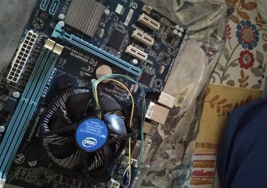 Microprocesador i5 y disipador