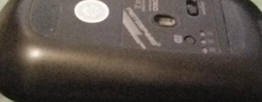 Mouse gamer wireless 2.4g 2400 dpi bateria litio