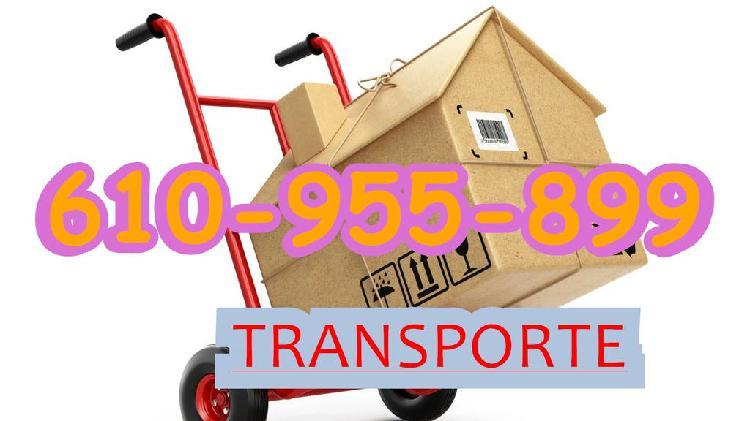 Mudanzas, transportes y portes baratos rapi