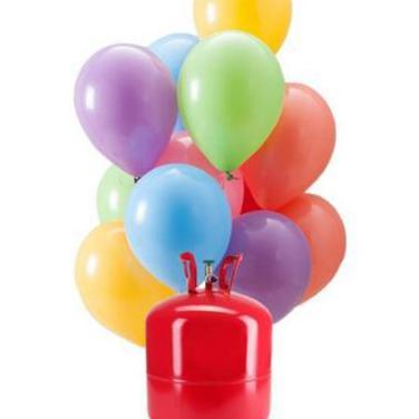 Nueva! bombona de helio para inflar 50 globos