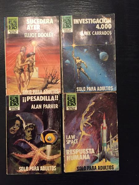 Novelas héroes del espacio