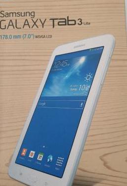 Nueva tablet samsung tab3