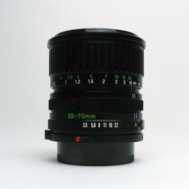 Objetivo canon fd 35-70 mm f/3.5-4.5 macro