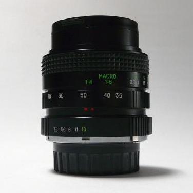 Objetivo para md 35-70mm f 3.5-4.9 macro