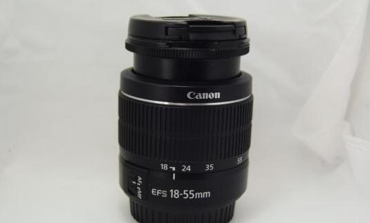 Objetivo canon ef-s 18-55mm iii lente