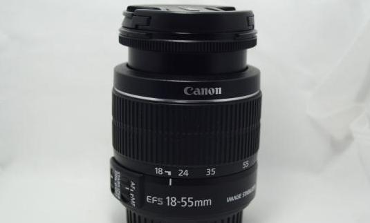 Objetivo canon ef-s 18-55mm is ii lente