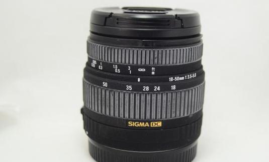 Objetivo canon sigma 18-50mm 1:3.5-5.6 lente