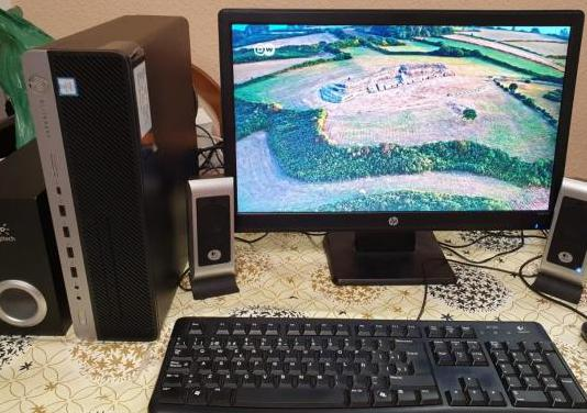Ordenador hp elite desk core i5 completo