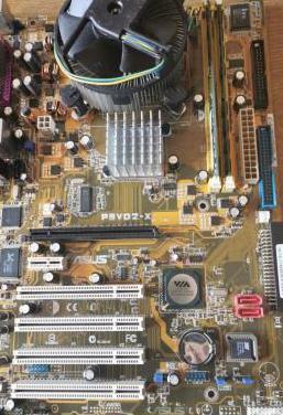Placa base asus micro y memoria ram