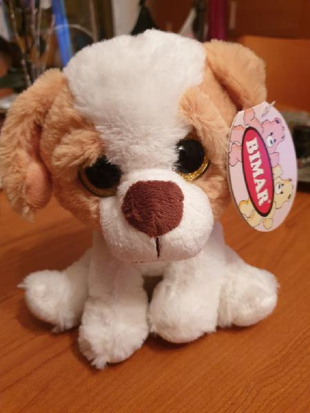 Perrito peluche (bimar / ojos cristal)