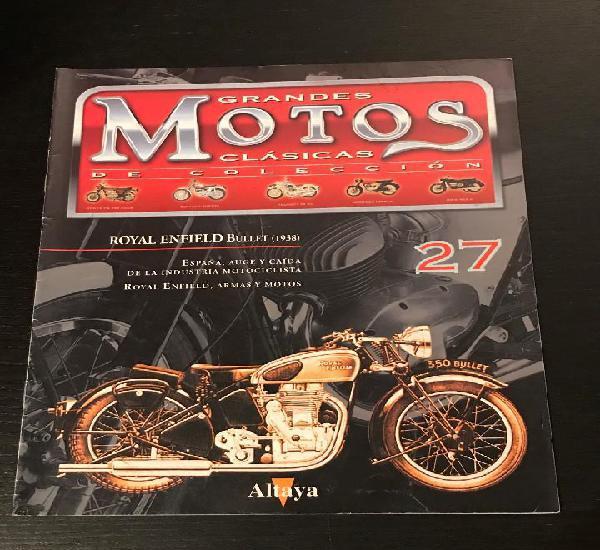 Royal enfield bullet (1938) - grandes motos clasicas de