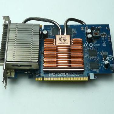 Tarjeta grafica gigabyte gv-nx76t256d-rh