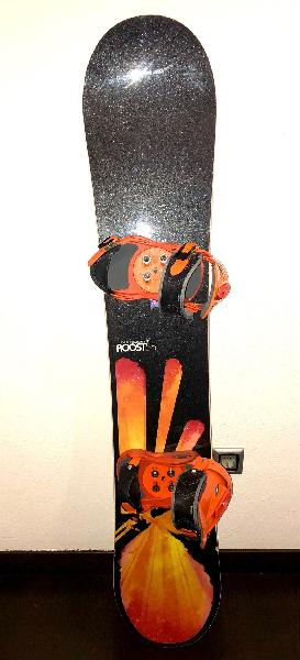 Tabla snowboard + fijaciones forum
