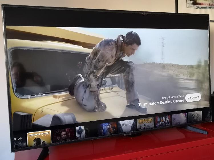 Tv samsung 55' led ultra hd, 4k, smart tv. nueva