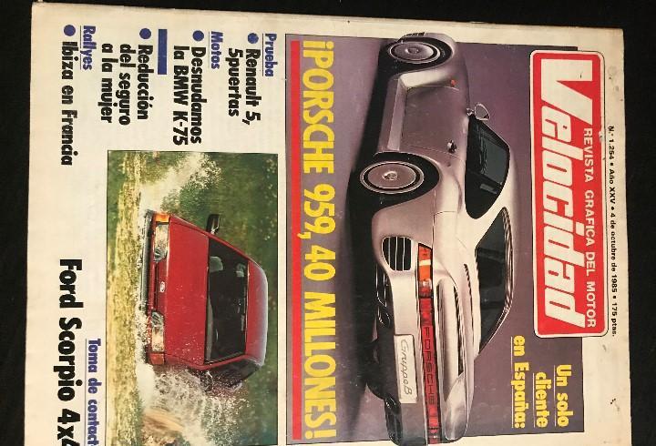 Velocidad nº 1254 / renault 5 gts / ford scorpio 4x4 /