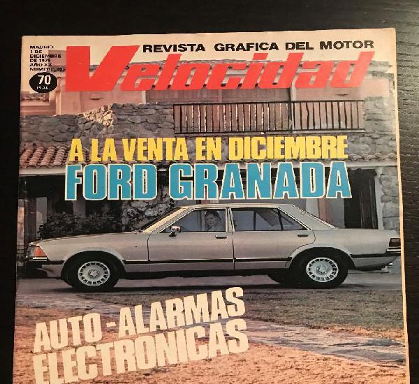 Velocidad nº 951 - ford granada / deetype replica