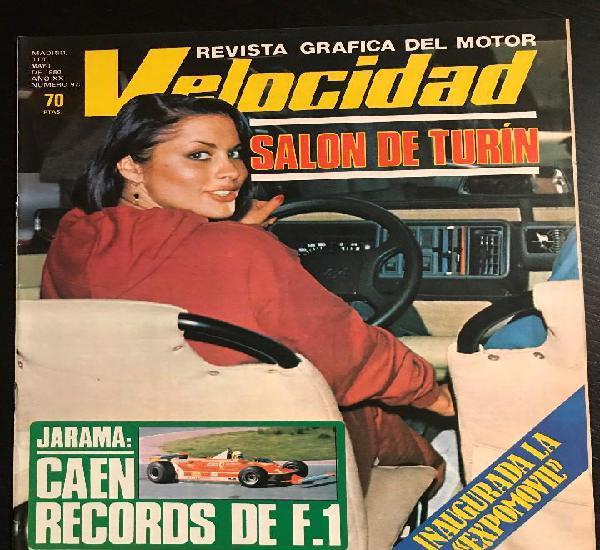 Velocidad nº 973 - salon turin / jarama / expomovil