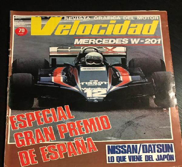Velocidad nº 977 - especial gp españa / nissa / datsun
