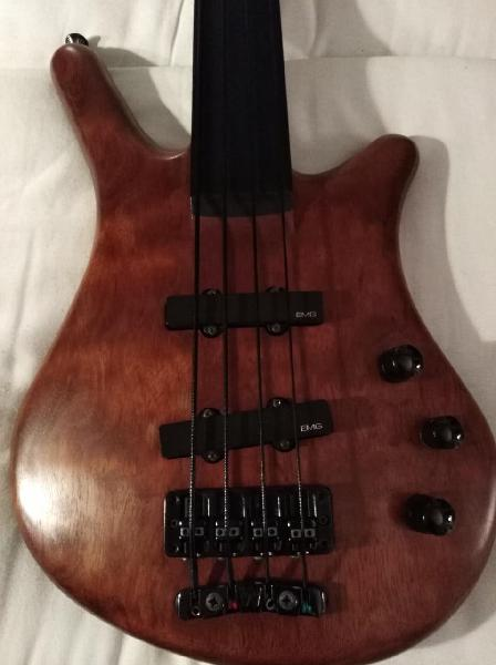 Warwick thumb bass nt fretless 4 cuerdas cambio