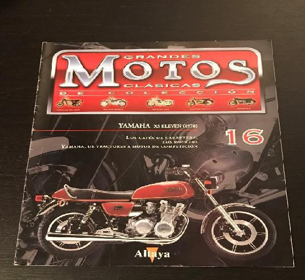 Yamaha xs 1100 eleven (1978) - grandes motos clasicas de