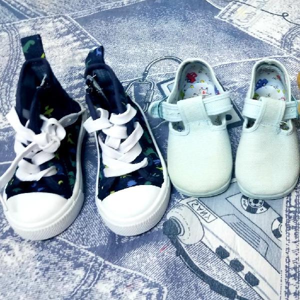 Lote de 3 zapatos niño niña
