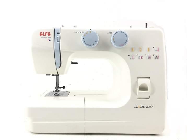 Maquina coser alfa 1208