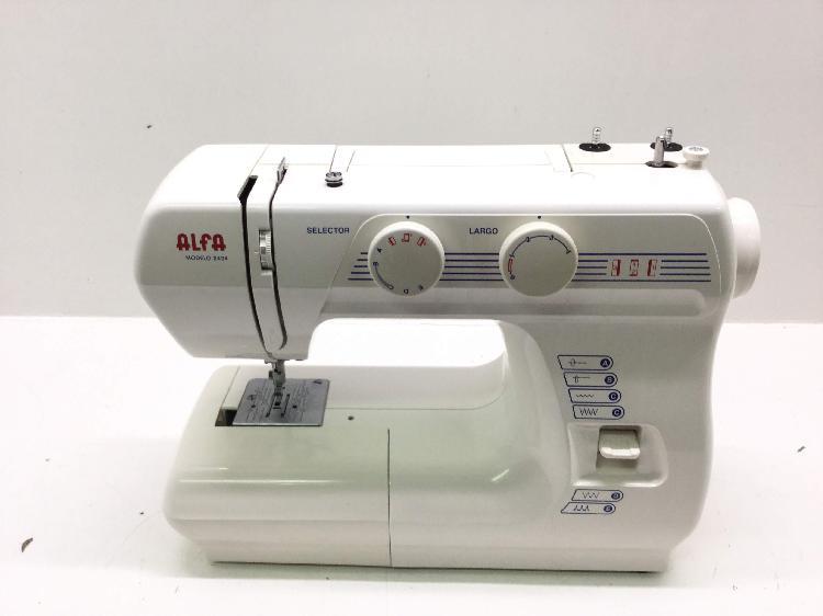 Maquina coser alfa 2404