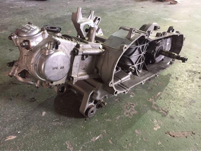 Motor yamaha cignus x 125 inyección