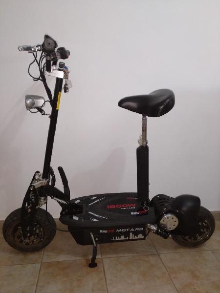 Patinete eléctrico raycool motard 1800w