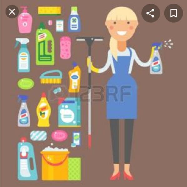 Servicio de limpieza planchado y cocina