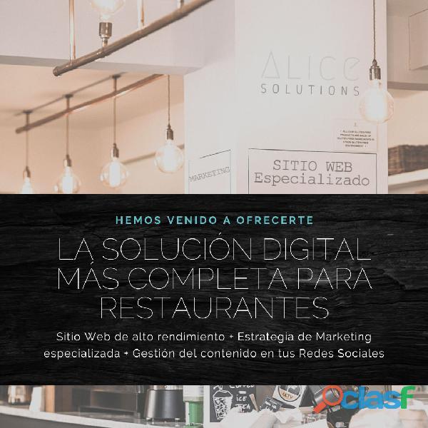 Web y Marketing para Restaurantes