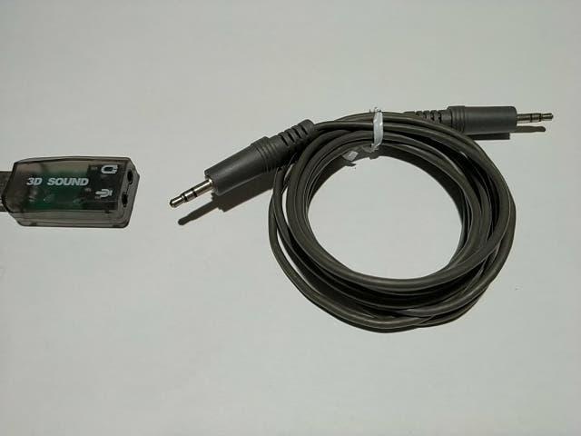 Adaptador de tarjeta de sonido para pc