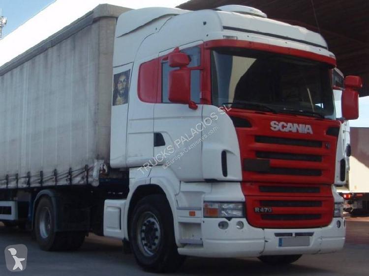 Cabeza tractora Scania estándar R 470 4x2 Euro 3 usado