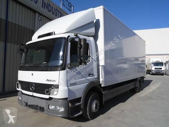 Camión mercedes furgón atego 1224 nl 4x2 diesel euro 5