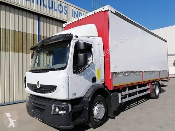 Camión Renault lona corredera (tautliner) Premium 310 DXI