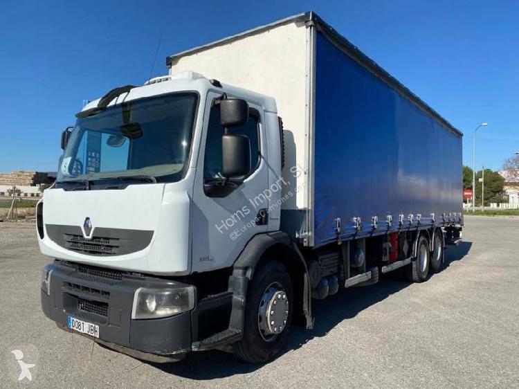 Camión Renault lona corredera (tautliner) Premium Lander