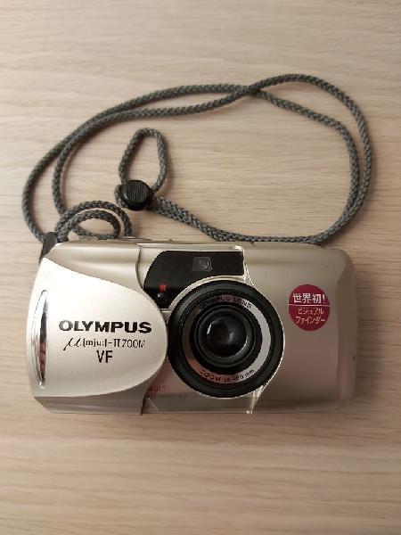 Cámara fotos olympus mju ii zoom vf 38-80mm