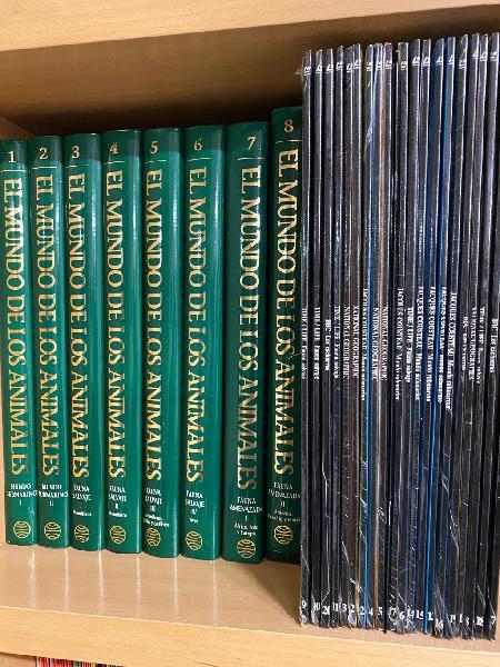 Coleccion el mundo de los animales libros y discos