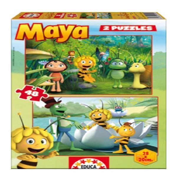 Educa puzzle maya 2x48 piezas.