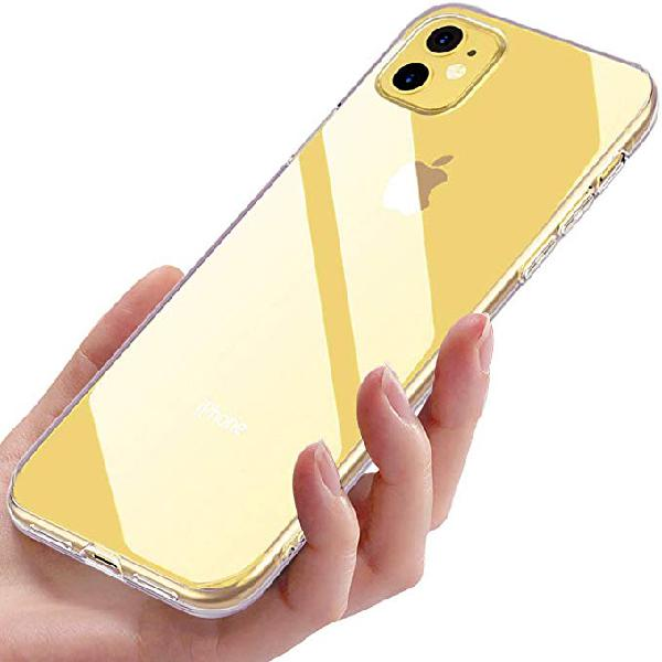 Funda iphone 11, carcasa silicona nueva