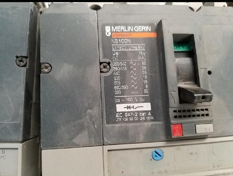 Interruptores automáticoos merlin gerin 1 ns
