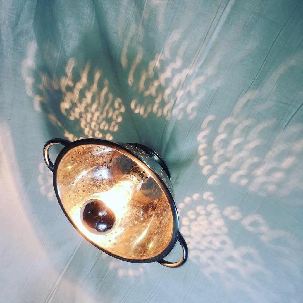 Lámpara colador