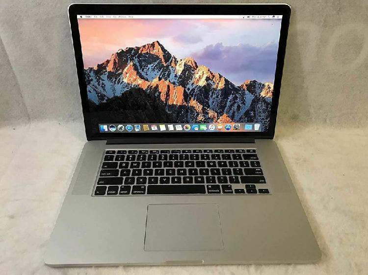 Macbook pro retina 15 2015 (2.8ghz i7 16gb 512gb)