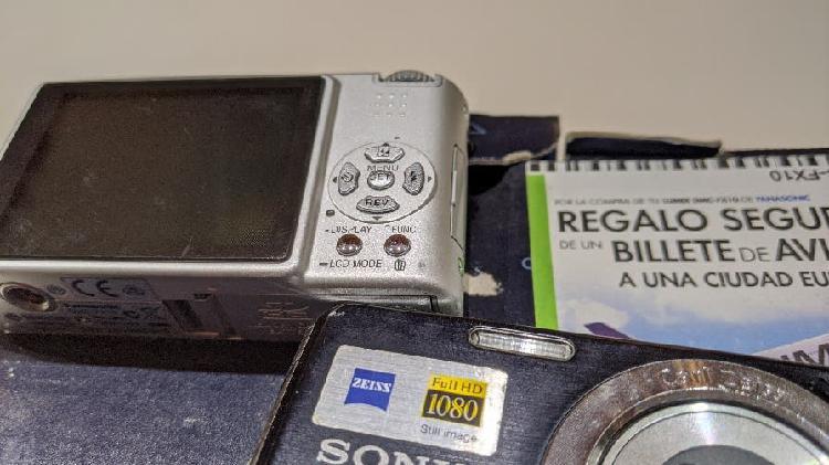 Panasonic lumix f10 + sony cibershot 12,1 mpx