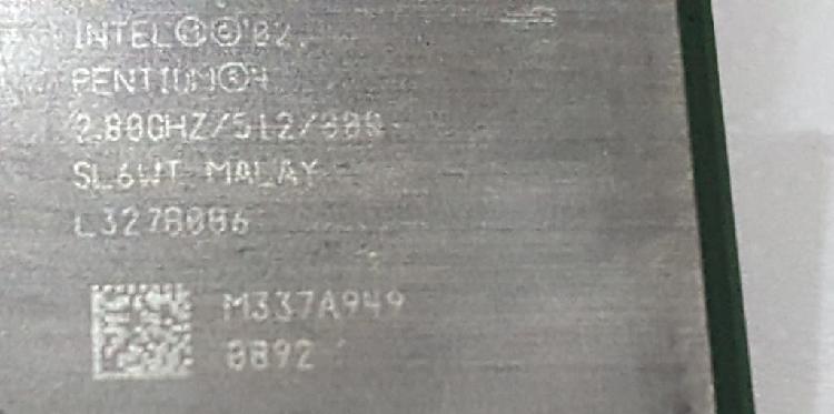 Pentium 4 - 2.8gz - cpu intel