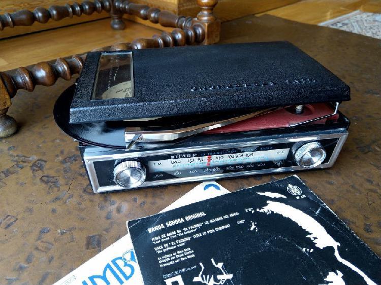 Radio tocadiscos sharp fxg 702 a mini sterephono
