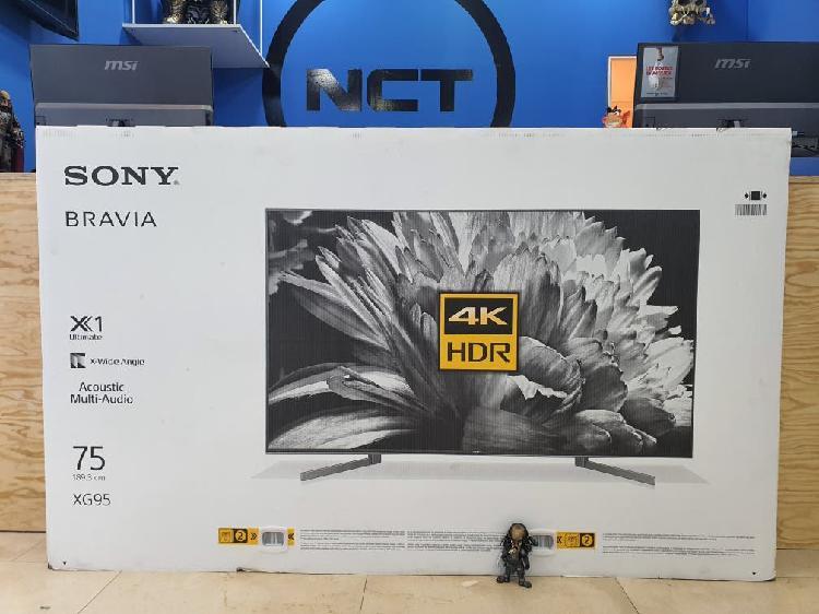 Sony 75 pulgadas uhd 4k hdr precintada